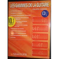 Id Music - Les Gammes de la guitare Volume 1 +CD Ganter