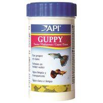 Api - Guppy Flocons - Pour poisson - 10 g