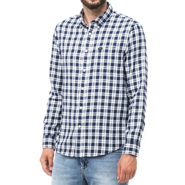 LEE Chemise Button Down Medieval blue