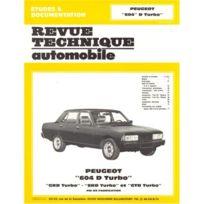 Topcar - Revue technique pour Peugeot 604 d turbo-grd et srd de 1979 à 1986