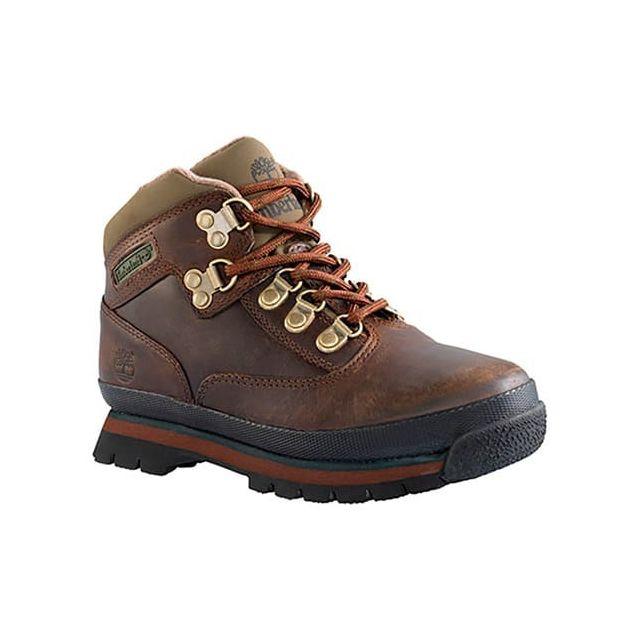 Hiker Timberland Euro Chaussures Marche Leather Marron Mid De Tq61qrIS4