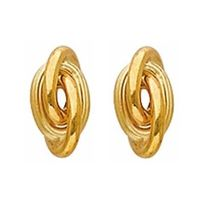 98f76ecd4dc Sochicbijoux - So Chic Bijoux © Boucles d Oreilles Noeud Antillais 6 mm Or  Jaune