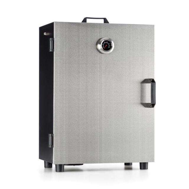 KLARSTEIN Flintstone Fumoir électrique armoire coffre 800W thermomètre inox