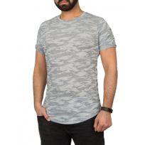Beststyle - T-shirt homme slim marine