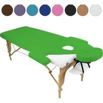 VIVEZEN - Drap housse de protection en éponge pour table de massage