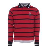 Harry Kayn - Polo manches longues homme Calaori- rouge