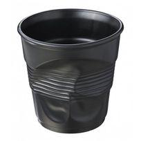 Revol - seau à champagne en porcelaine noir satiné - 642568