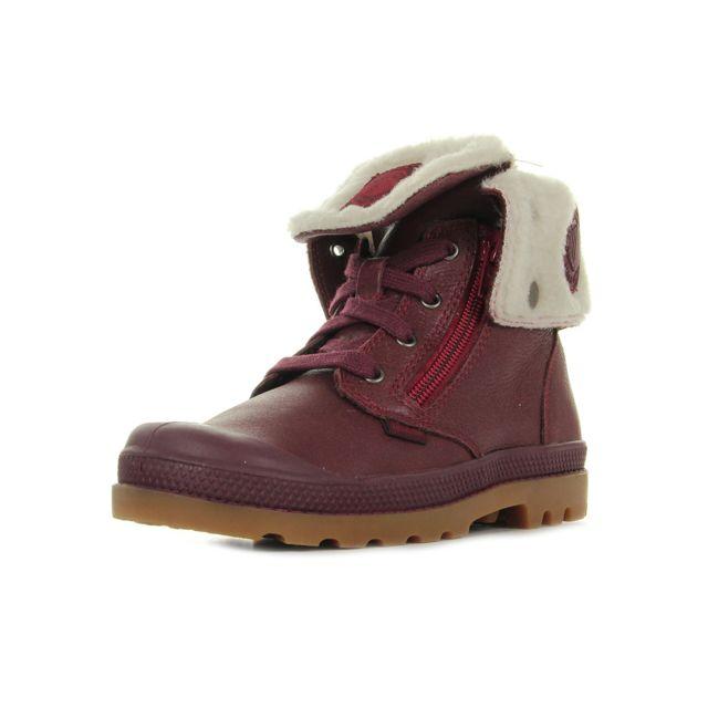Palladium Baggy Leather S pas cher Achat Vente Boots
