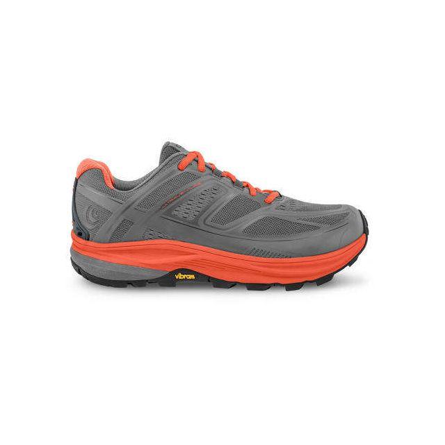 Topo Athletic Chaussures Ultraventure gris orange femme