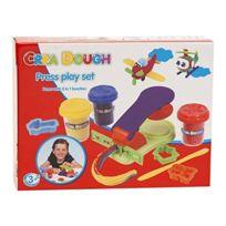 Ak Sport - 0282010 - PÂTE À Modeler - Crea Dough Press Play Set