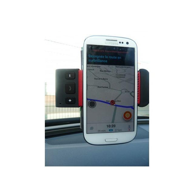 d53e2267ac5d Htc - Porte Telephone+KIT Main Libre Bluetooth Fixation Ventouse ...