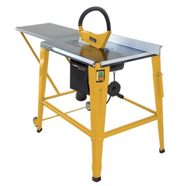 Vito Pro Power Scie Circulaire De Table 2000 W Vitopower
