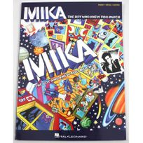 Hal Leonard - Partition Mika The boy who knew too much - Piano voix guitare