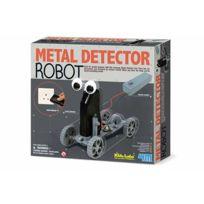 4M Kidz Labs - Kit de fabrication Robot détecteur de métaux