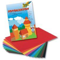 Bringmann - Papier Carton Plusieurs Coloris 10 Feuilles 22 X 32 Cm