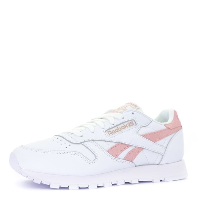 Reebok Classic Leather Exotic Chaussures femme blanc