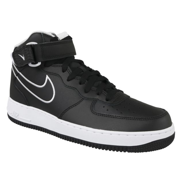 finest selection cc1e4 f59cc Nike - Nike Air Force 1 Mid 07 Aq8650-001 Noir
