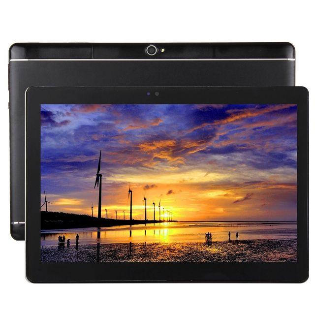 Yonis Tablette 10 pouces 4G Android 7.0 2Go Ram Cpu Octa Core 32Go Noir