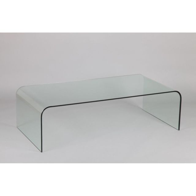 Inside 75 Table basse Jade en verre