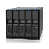 Icy Dock - Backplane 3x5,25'' ICY DOCK FlexCage MB975SP-B pour 5 disques durs 3,5'' SATA