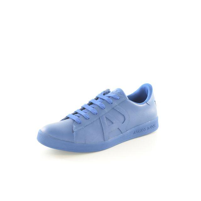 39ae2c1ffad Armani Ea7 - Sneakers Cuir Logo 06565 Yo - Armani Jeans - pas cher ...