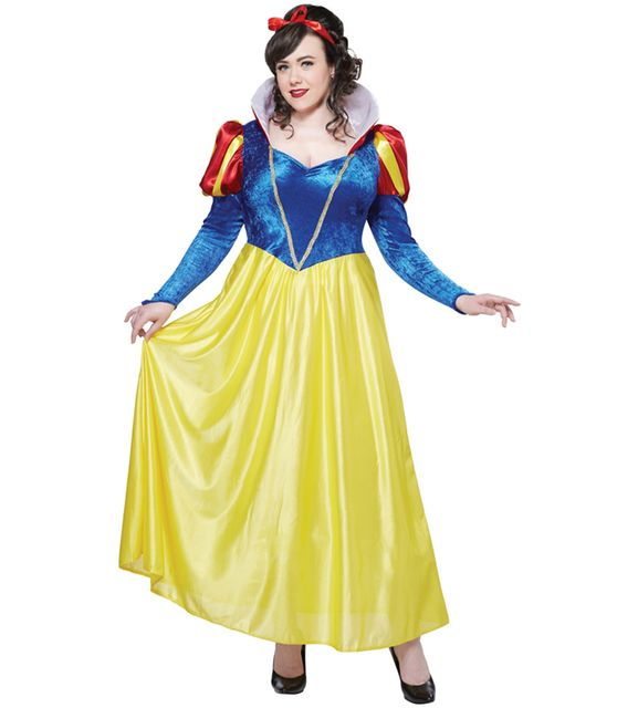 California Costume Déguisement Blanche Neige - FemmeXL - 42/44