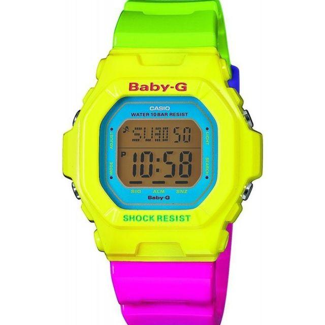 Montre Casio Baby G Multicolore Bg 5607 9ER Cas161 Achat  caBYT