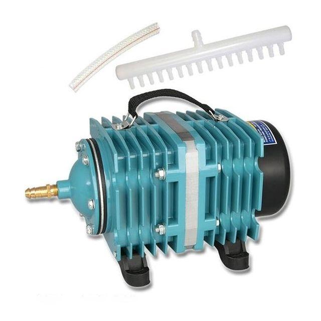 Wewoo Pompe aquarium 200W 135L / Min compresseur de à air électromagnétique poisson augmentation la capacité du réservoir d'ox