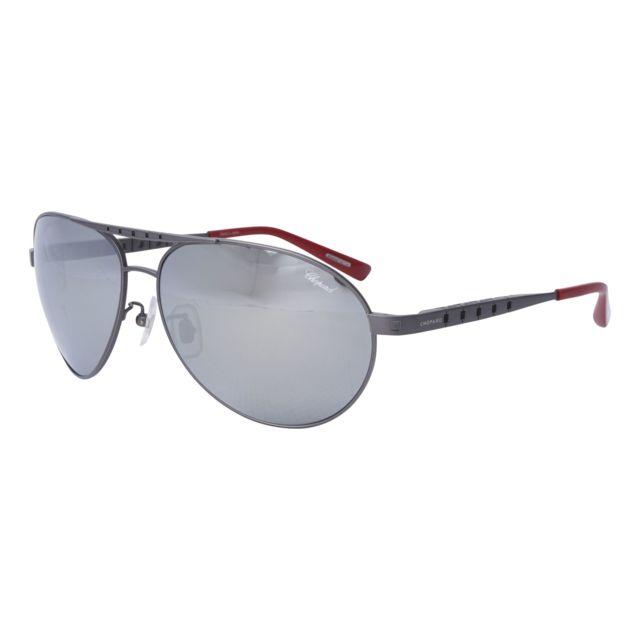 Chopard - Schb-01 8G3P Gris mat - Rouge - Lunettes de soleil - pas cher  Achat   Vente Lunettes Tendance - RueDuCommerce f1bf2da26e27