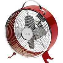 Aeg - Ventilateur de table rouge rétro VL-5617M/RD