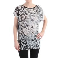 Lamodeuse - T-shirt large double coeur