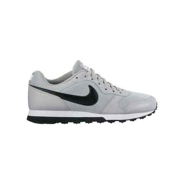 Nike Chaussures Md Runner 2 Gs gris clair noir enfant Multicolour