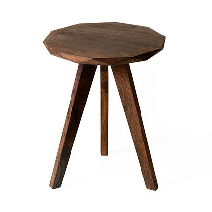 Table d'appoint 38cm en palissandre