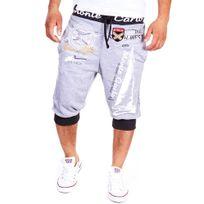 Cincjeans - Short fashion homme Short 565 gris et Noir