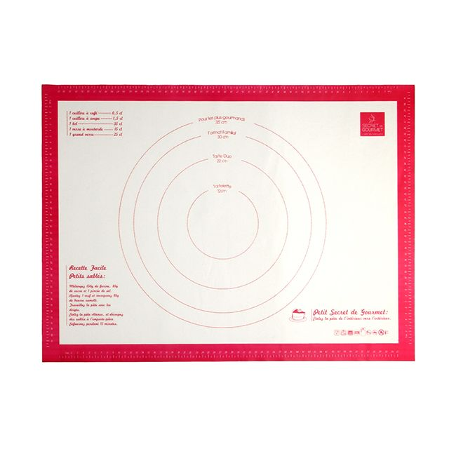 MAISON FUTEE Feuille de cuisson silicone 61 x 45 cm