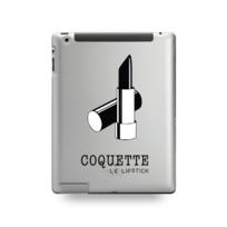 Destination Telecom - Coque Ipad 5 motif Coquette Rouge À Lèvre