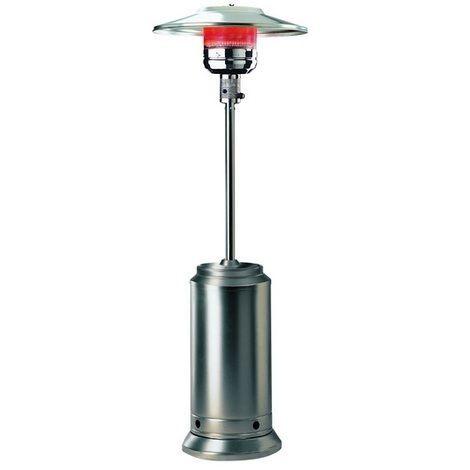 Parasol chauffant gaz - 13 kw - Acier Inoxydable - 6541090RAF