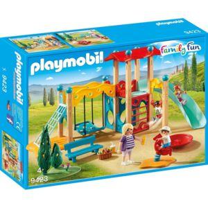 Playmobil   9423 Family Fun   Pleine De Jeu Avec Toboggan