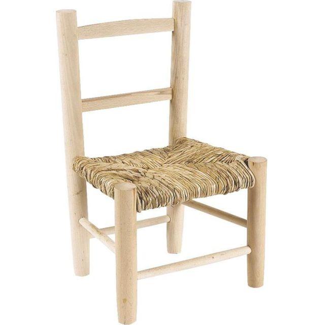 aubry gaspard petite chaise bois pour enfant pas cher. Black Bedroom Furniture Sets. Home Design Ideas