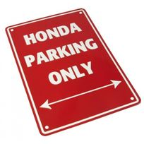Bike It - Plaque Parking Honda