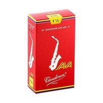 Vandoren - Sr2615R Java 10 Anches pour Saxophone Alto 1,5 Rouge