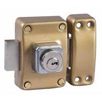 Bricard - Verrou de securité pour porte avec cylindre 45 mm Alpha