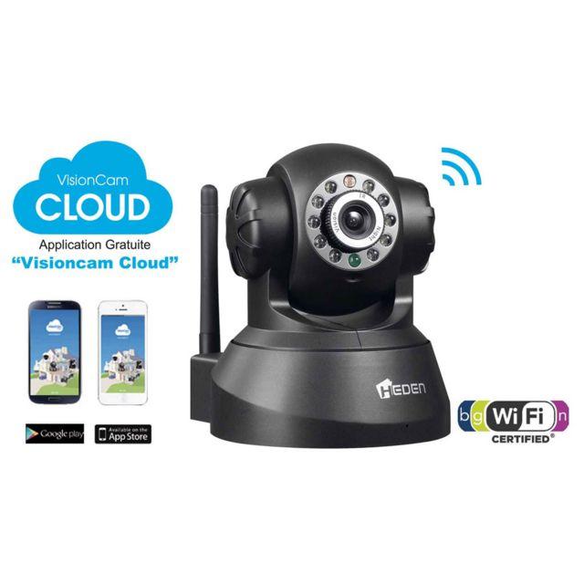 HEDEN Caméra IP CLOUD Noire - v2.4