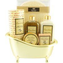 Coffret cadeau coffret de bain au parfum gourmand de chocolat - 6pcs