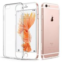 Cabling - Coque iPhone 6s Silicone, iPhone 6 / 6s Case Coque Ultra Fine, Housse Etui Shock-Absorption Bumper Tpu Gel Silicone Transparente Coque pour iPhone 6 6s 4.7