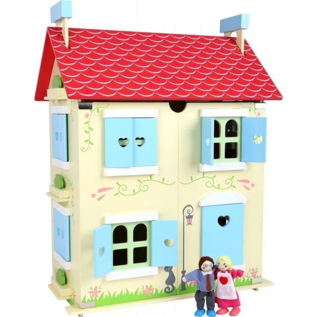 Small Foot Company Maison de poupée avec toit amovible