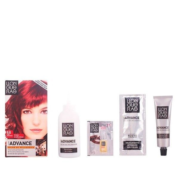 No Name Llongueras - Llongueras Color Advance hair colour 6,6-dark red intense