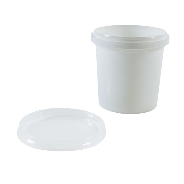 Cis Lot de 10 pots + couvercles de conservation Pp 155ml diam.67