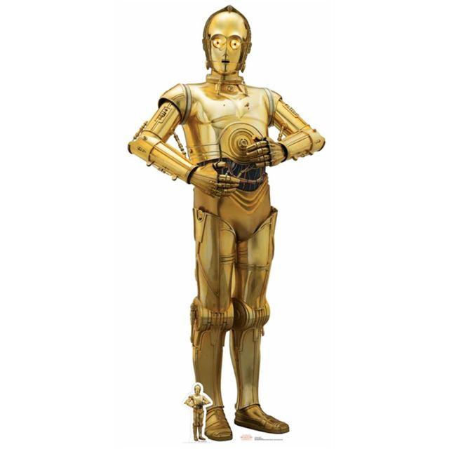 Bebe Gavroche Figurine en Carton Droïde C3PO Star Wars