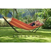 Amazonas - Beach Set hamac 300x100 + support metal 300